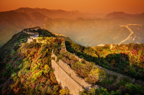 A Moody Evening at the Great Wall